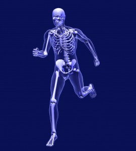 running-skeleton